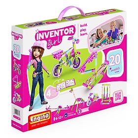 Mô Hình Sáng Tạo Cho Bé Gái Engino Inventor Girl - 20 Mẫu (IG20)