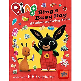 Bing's Busy Day Sticker Activity Book (Bing Series Book #3)