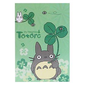 Sổ Giấy Note Totoro - Xanh Lá