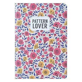 Sổ Tay Kẻ Ngang Crabit Notebuck Pattern Lover 1501a (19 x 13 cm)