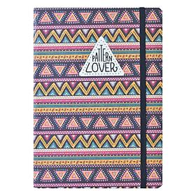 Sổ Tay Crabit Notebuck Pattern Lover – Dotgrid 1550b (20.8 x 14.5 cm)