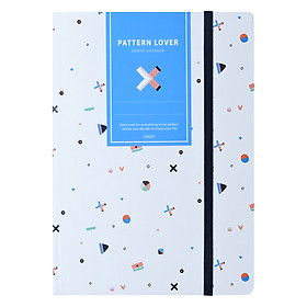 Sổ Tay Crabit Notebuck Pattern Lover – Dotgrid 1552b (20.8 x 14.5 cm)