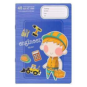 Vở Ô Li Crabit Notebuck Dream Job 6988i - Tím Xanh (24 x 17 cm)