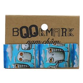 Bookmark Nam Châm Kính Vạn Hoa - Cú Mèo Và Bầu Trời
