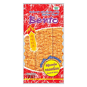 Snack Mực Tẩm Gia Vị Cay Ngọt Bento (24g)