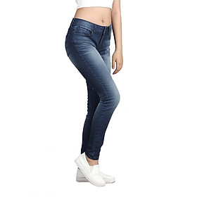 Quần Jeans Skinny Nữ ALE JEANS 60104SK - Xanh
