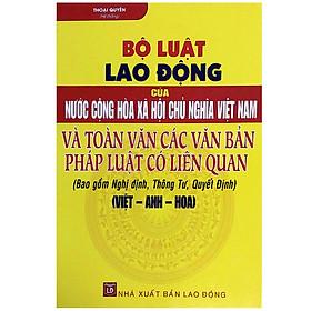 Bộ Luật Lao Động Của Nước Cộng Hòa Xã Hội Chủ Nghĩa Việt Nam Và Toàn Văn Các Văn Bản Pháp Luật Có Liên Quan - Bao Gồm Nghị Định, Thông Tư, Quyết Định (Việt - Anh - Hoa)