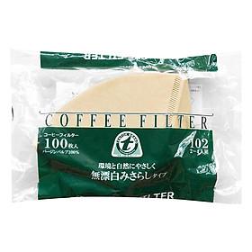 Giấy Thấm Lọc Coffee Filter TENTOK GTL000770028 - Nâu (100 miếng)
