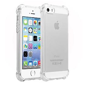 Ốp Lưng Dẻo Chống Sốc Phát Sáng Cho iPhone 5/5s/5SE (Trong Suốt) - HÀNG CHÍNH HÃNG
