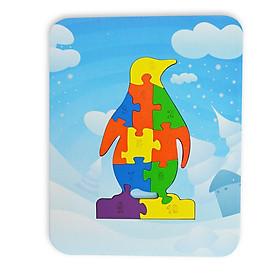 Đồ Chơi Gỗ Ghép Hình Puzzle Tottosi - Chim Cánh Cụt 303018 (11 Mảnh Ghép)