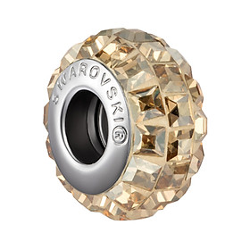 Charm Đá Ngàm Pha Lê Crystals From Swarovski Tia Sáng Ban Mai CPL 11 - Vàng