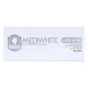 Kem Hỗ Trợ Trị Mụn Trắng Da Medi White (15ml)