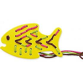Đồ Chơi Gỗ Đan Lát Tottosi - Con Cá 203003