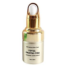Serum Trắng Da Chống Lão Hóa MH Natural Skincare Total Protection Whitening & Antiaging Serum (20ml)