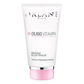 Mặt nạ tẩy tế bào chết Orlane chuyên dùng cho làm da mỏng, nhạy cảm Orlane Oligo Vitamin Vitality Radiance Mask 75ml