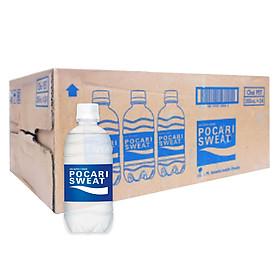 Thùng 24 Chai Thức Uống Bổ Sung ION Pocari Sweat (350ml / Chai)