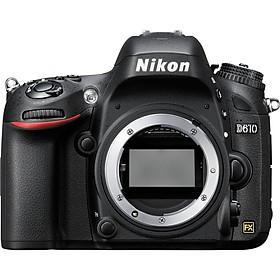 Máy Ảnh Nikon D610 (Body) - Hàng Chính Hãng