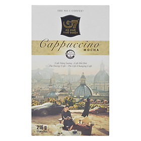 Cà Phê Cappuccino Hương Mocha Trung Nguyên (Hộp 12 Gói)