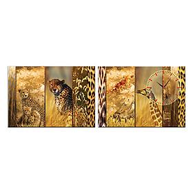Tranh đồng hồ treo tường NÉT ĐẸP HOANG DÃ - Q6D6_50DH-01 Thế Giới Tranh Đẹp