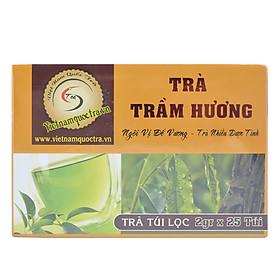 Hình đại diện sản phẩm Trà Trầm Hương Túi Lọc Việt Nam Quốc Trà (25 Gói)