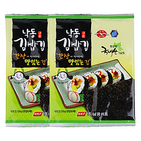 Combo 2 Rong Biển Khô Cuộn Sushi Namkwang Food (20g / Gói)