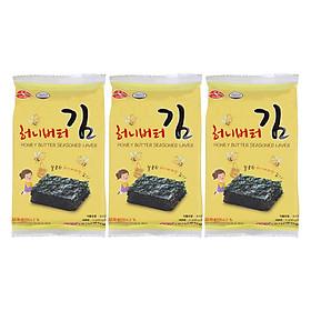 Rong Biển Khô Tẩm Bơ Mật Ong Namkwang Food (5g x 3)