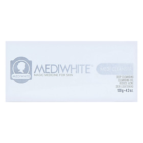 Sữa Rửa Mặt Trắng Da hỗ trợ Trị Mụn Medi White (120ml)