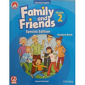 Family And Friends (Ame. Engligh) (Special Ed.) Grade 2: Student Book With CD