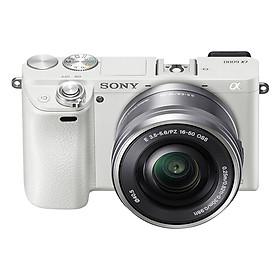 Máy Ảnh Sony Alpha A6000 + 16-50mm (Trắng)