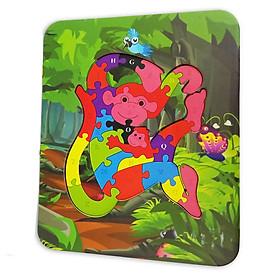 Đồ Chơi Gỗ Ghép Hình Puzzle Tottosi Khỉ 303021 (26 Mảnh Ghép)