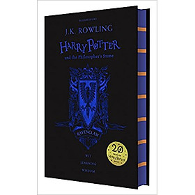 Harry Potter Part 1: Harry Potter And The Philosopher's Stone (Hardback) Ravenclaw Edition (Harry Potter và hòn đá phù thủy) (English Book)