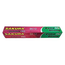 Nhôm Lá Mỏng Sakura SK12 (30cm x 7.62m)