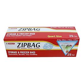 Túi Zipbag Ringo Quart (Hộp 25 Cái)