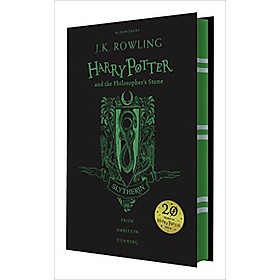 Harry Potter Part 1: Harry Potter And The Philosopher's Stone (Hardback) Slytherin Edition (English Book)