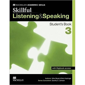 Skillful Listening And Speaking 3: Student book With Digibook