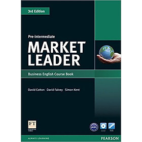 Market Leader ( 3 Ed.) Pre-Inter: Course Book With DVD-ROM - Paperback