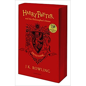 Harry Potter Part 1: Harry Potter And The Philosopher's Stone (Paperback) Gryffindor Edition (Harry Potter và Hòn đá phù thủy) (English Book)