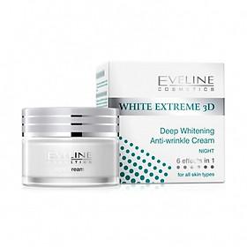 Kem Dưỡng Trắng Da Chống Nhăn Đêm Eveline White Extreme 50ml