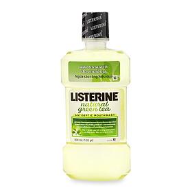 Nước Súc Miệng Trà Xanh Listerine Natural Green Tea (500ml) - 8850007812548