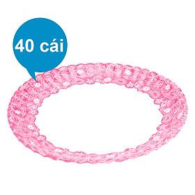 Lốc 40 Cái Dĩa Giấy In Hình Phủ PE FnB DH18 (18cm / Dĩa)