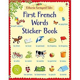 Usborne First French Words Sticker Book