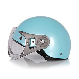 Mũ Bảo Hiểm Protec Hiway 1 Màu Có Kính - HLWK