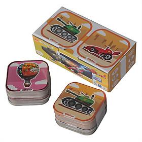 Bộ 48 Thẻ 3D Flashcard Ekidar 48012017 (Xe Cộ)