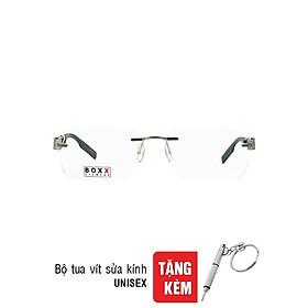 Gọng Kính Unisex Boxx BMX913R F20-T001 (54/17/140) - Đen + Tặng Bộ Tua Vít Sửa Kính