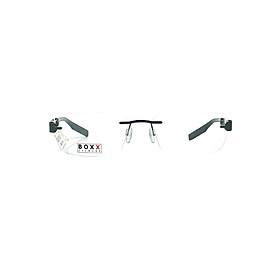 Gọng Kính Unisex Boxx BMX918R F90 M004 (54/17/140) - Đen + Tặng Bộ Tua Vít Sửa Kính