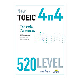 New TOEIC 4n4 - 520 Level (Kèm CD)