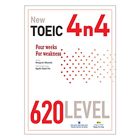 New TOEIC 4n4 - 620 Level (Kèm CD)
