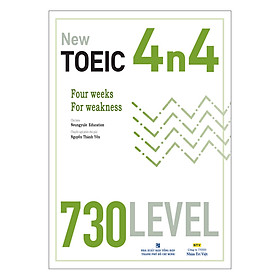 New TOEIC 4n4 - 730 Level (Kèm CD)