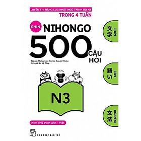 500 Câu Hỏi Luyện Thi Năng Lực Nhật Ngữ Trình Độ N3