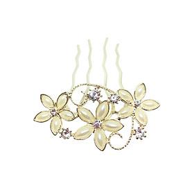 Trâm Cài Tóc Hoa Đính Ngọc Osewaya HA1200-9630 - Vàng